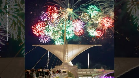The sky over the Lake Michigan shoreline near downtown Milwaukee will be star-spangled July 3, thanks to new sponsorship for the lakefront fireworks by the Milwaukee Brewers, T&M Partners and American Family Insurance. The fireworks off Veterans Park, 1010 N. Lincoln Memorial Drive, start at dusk.