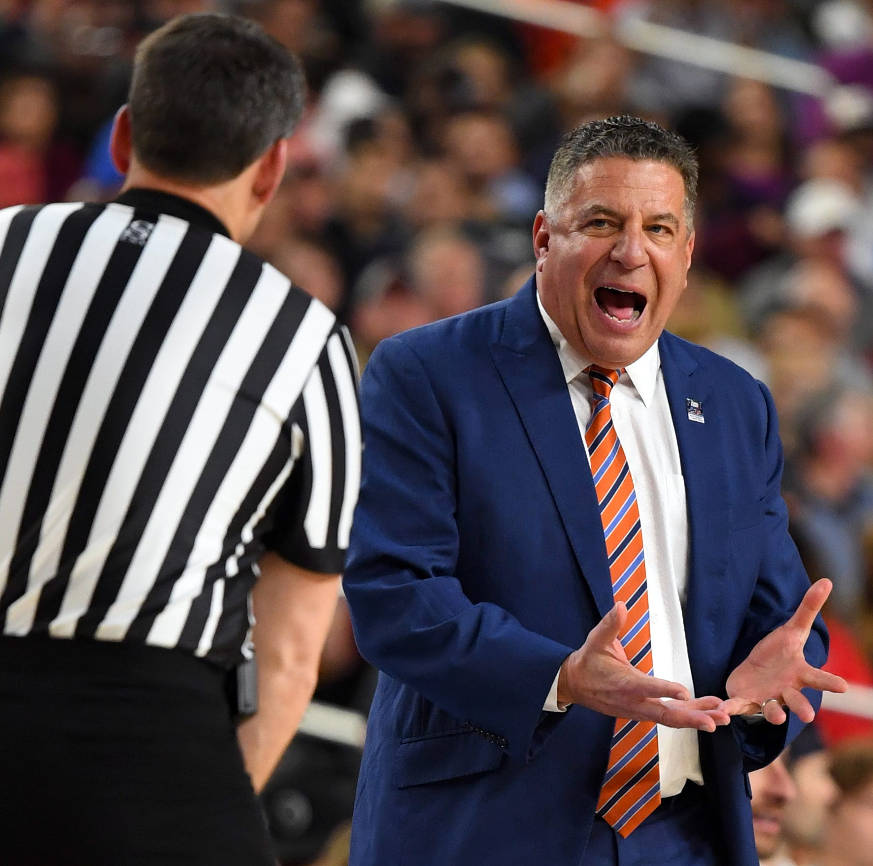 NCAA Final Four 2019: Who are the referees for the Virginia, Auburn basketball game?