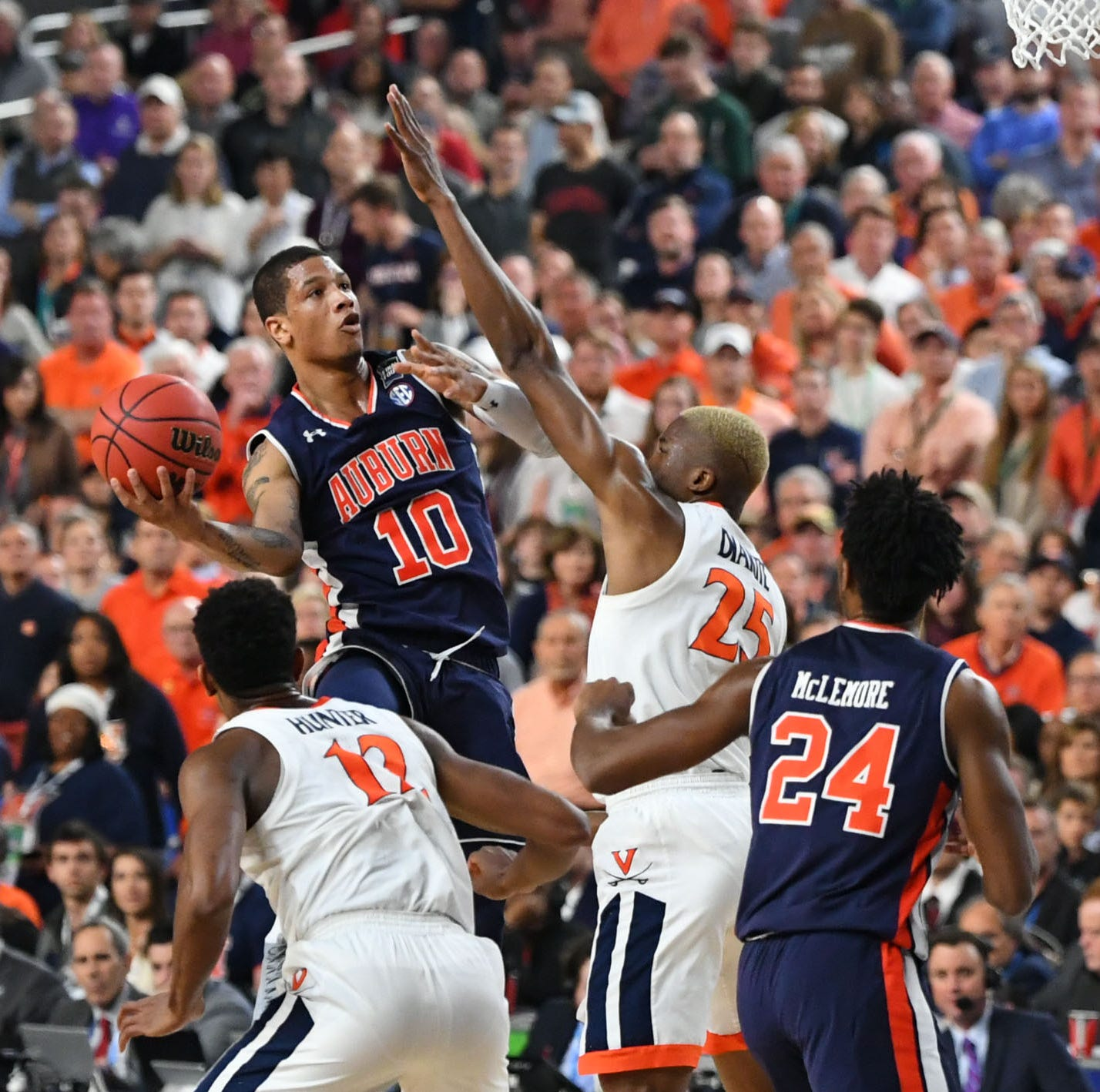 NCAA Final Four 2019: Auburn vs. Virginia men's basketball highlights, score