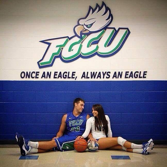 Chase Fieler starred on the basketball team at Florida Gulf Coast, while  Whitney Fieler was on the volleyball team.