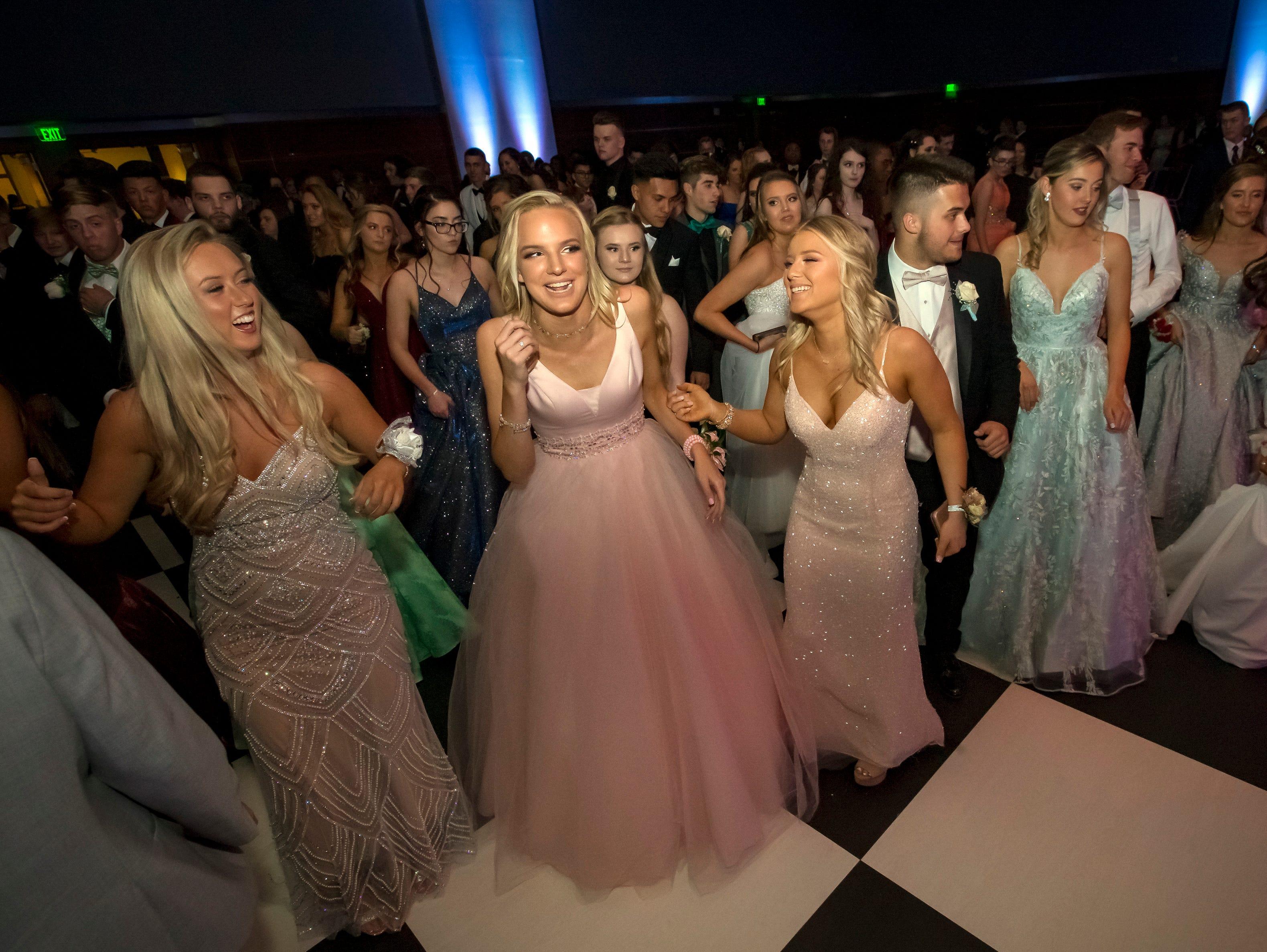 Stewarts Creek High School prom held at MTSU, Friday, April 5, 2019.