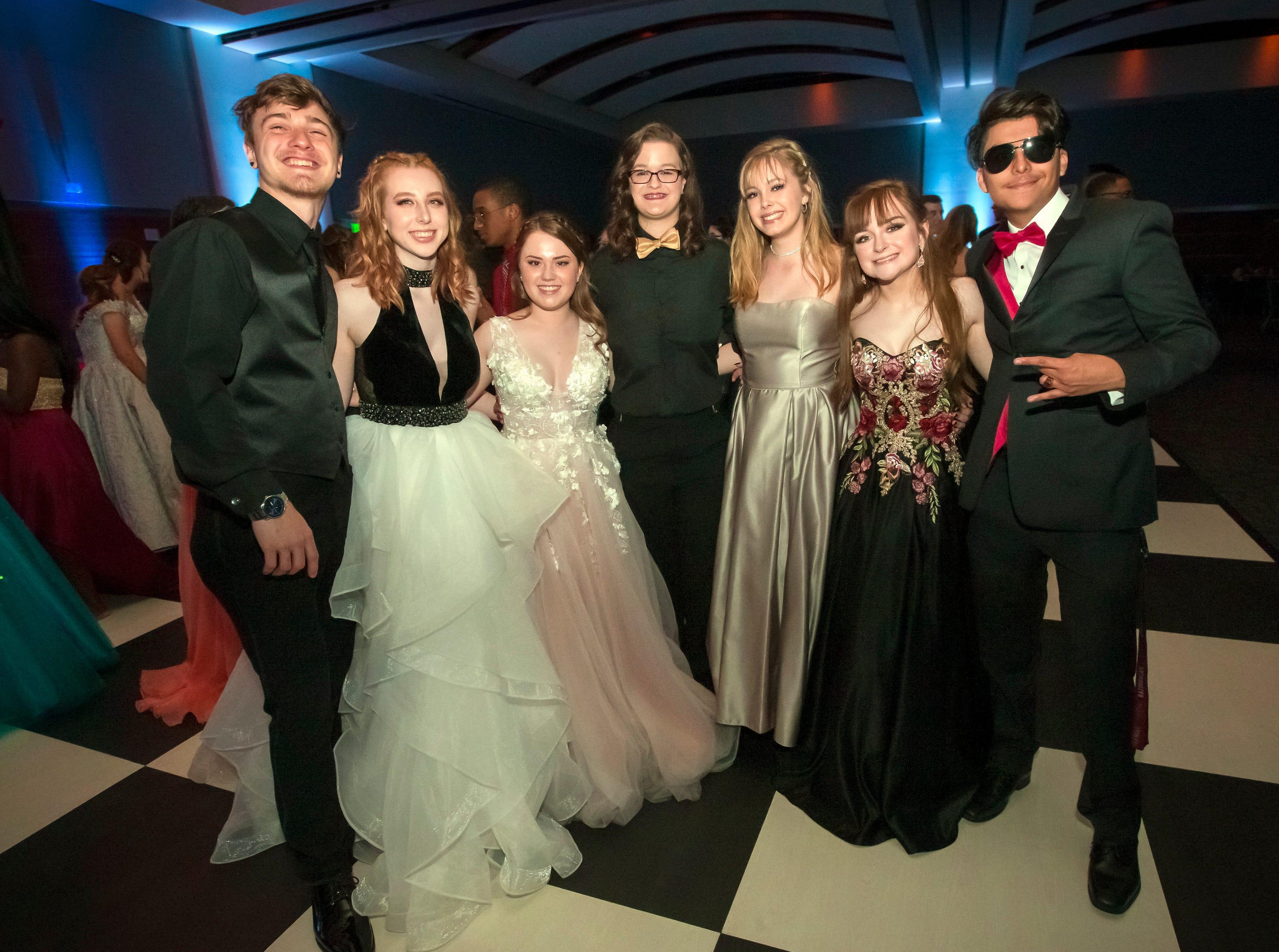 Stewarts Creek High School prom held at MTSU, Friday, April 5, 2019.JIM DAVIS/for the DNJ
