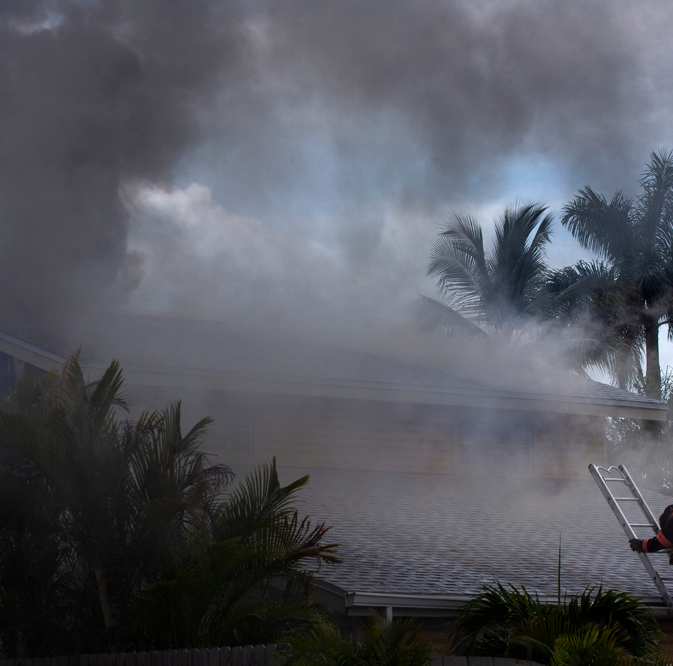 Fire in Naples Park causes significant damage to home