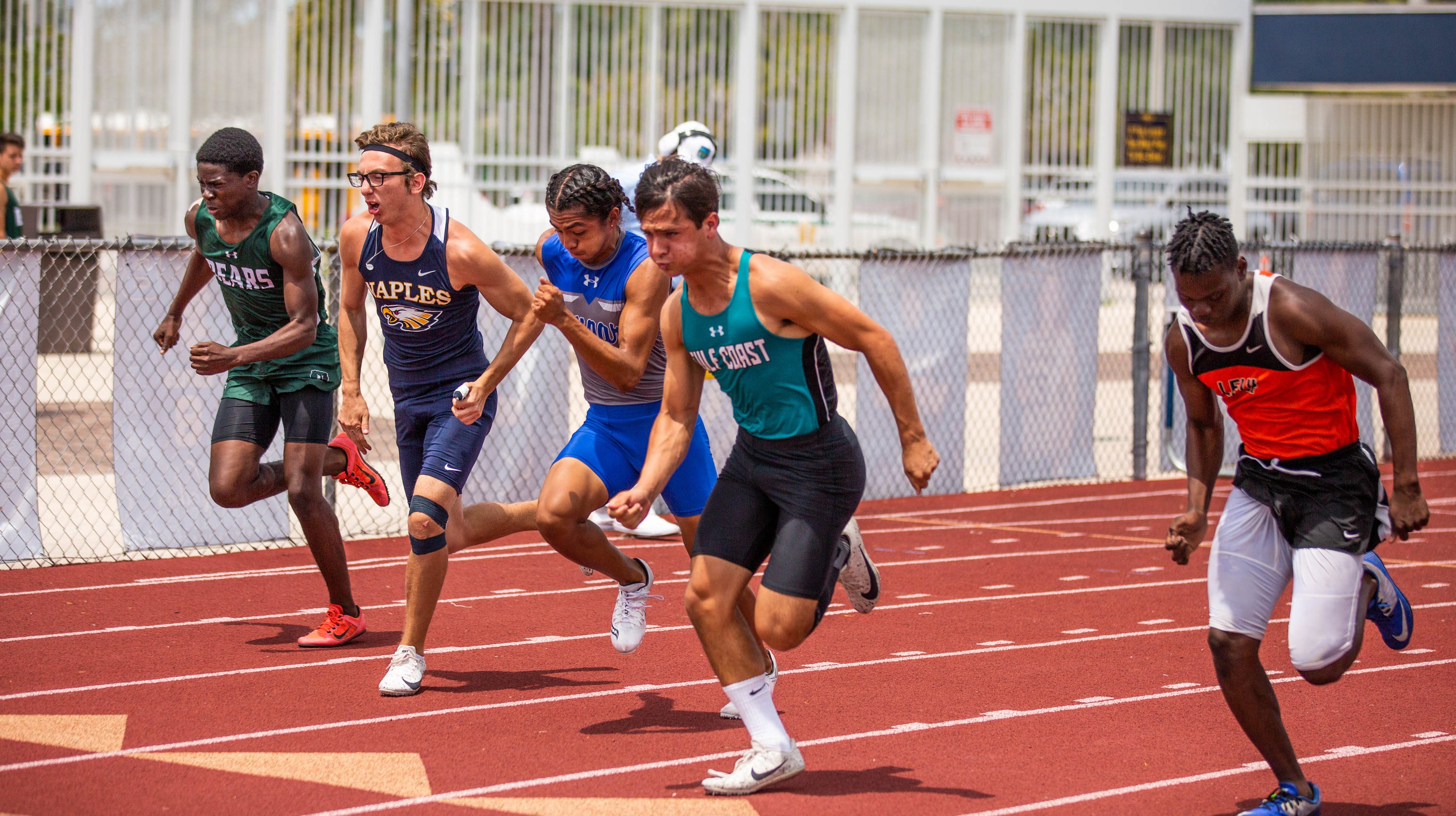 Naples High School boys and girls win CCAC track and field ...