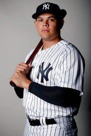 New York Yankees infielder Giovanny Urshela.