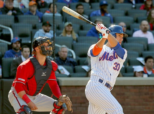 New York Mets outfielder Michael Conforto has been hot at the plate to start the season.