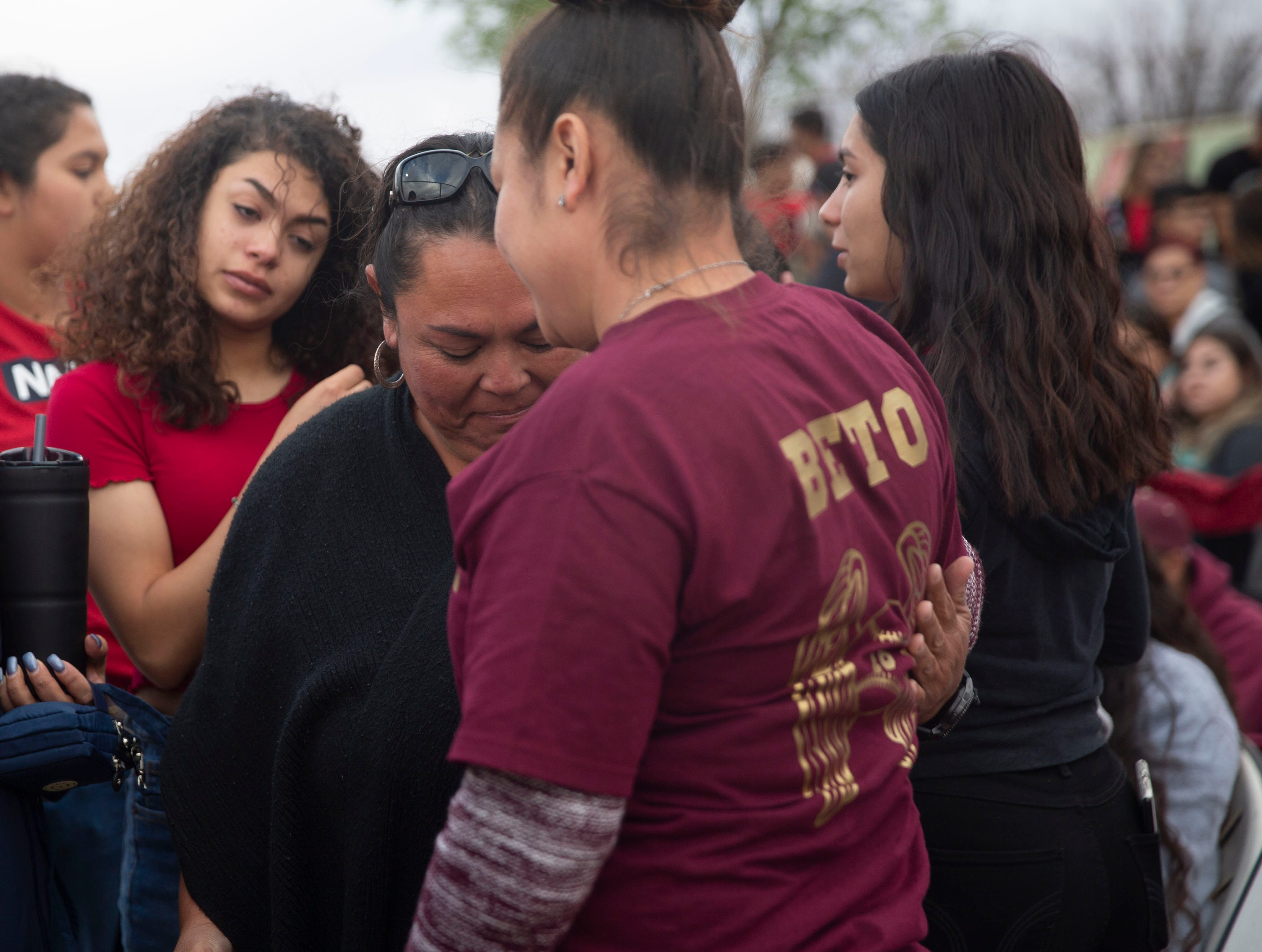 Friends, classmates and supporters of the Beto Romero family gathered Friday evening at a Gadsden High School double-header baseball game, to honor their fallen teammate, who was killed by an erratic driver earlier this week, in Anthony, New Mexico. Romero was just 16-years old.