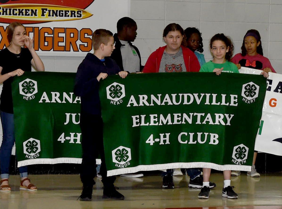 The annual St. Landry Parish 4-H Achievement Day held Saturday at Opelousas High School.
