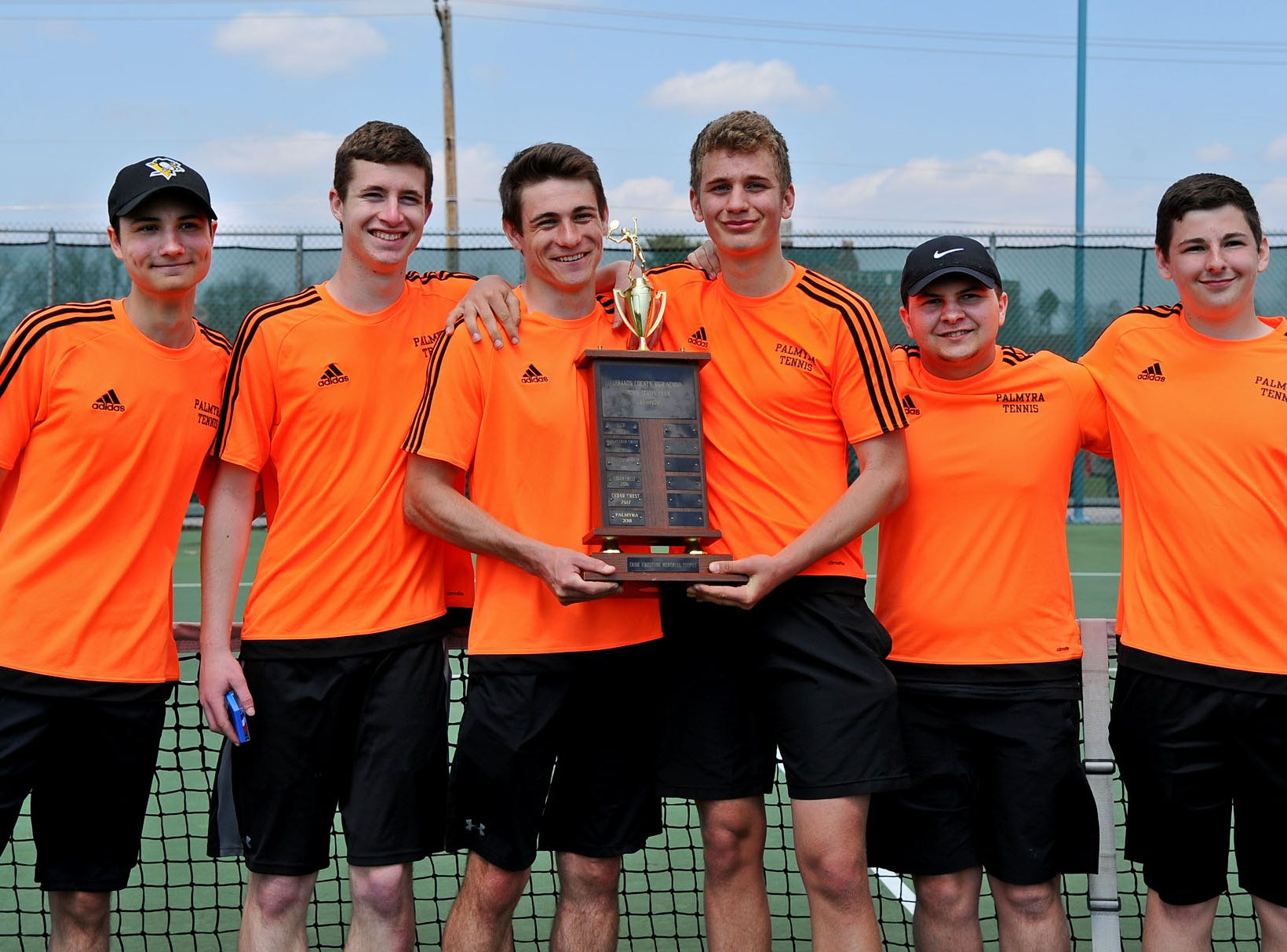 Palmyra shared the county team title with Cedar Crest this year after winning it outright in 2018.