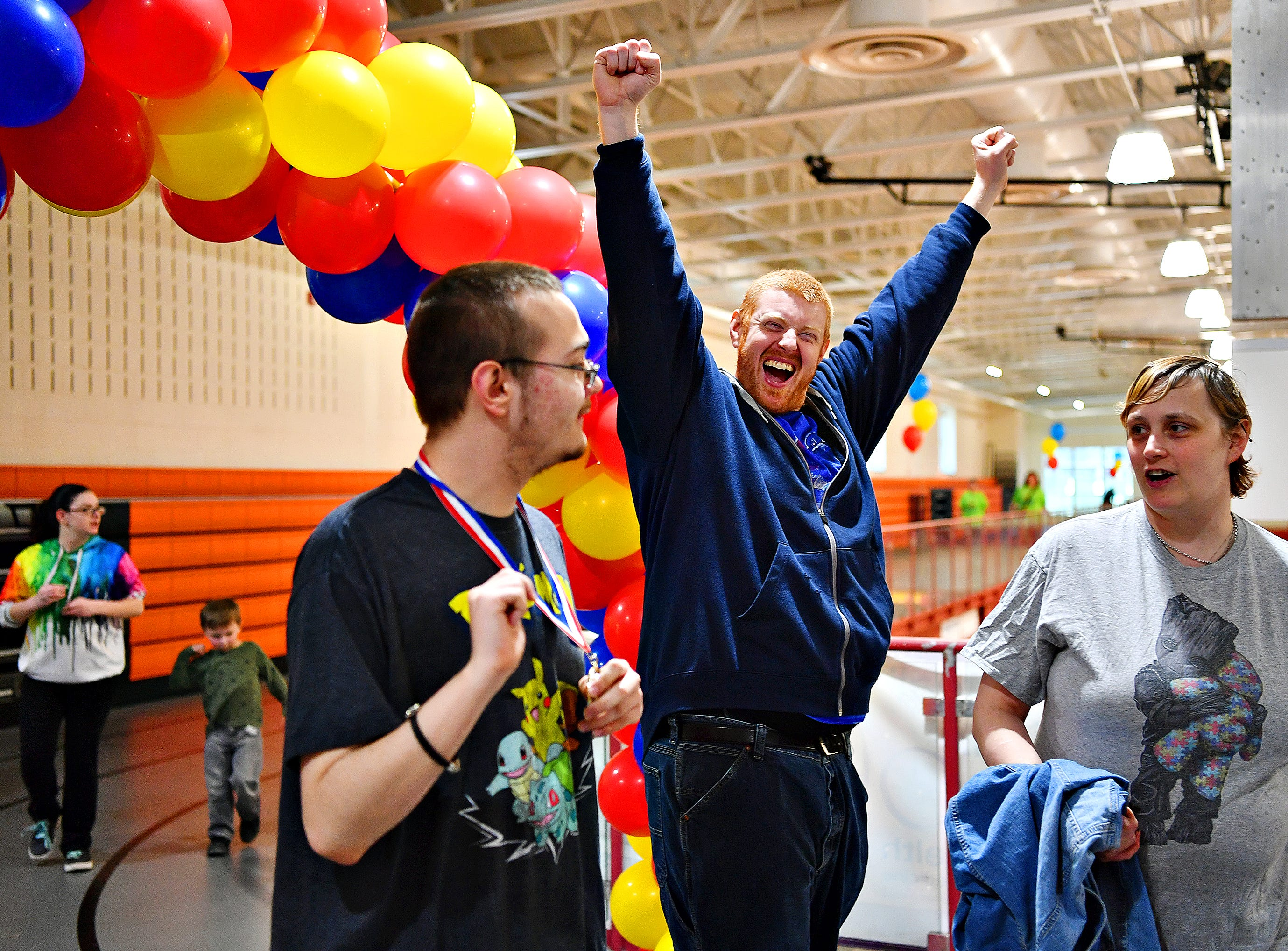 The 2019 Walk for Autism & Autism Expo at Central York High School in Springettsbury Township, Saturday, April 6, 2019. Dawn J. Sagert photo
