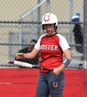 Wooster's Maddy Hunden gets ready to bat in a home game against the Raiders on Thursday, April 4, 2019