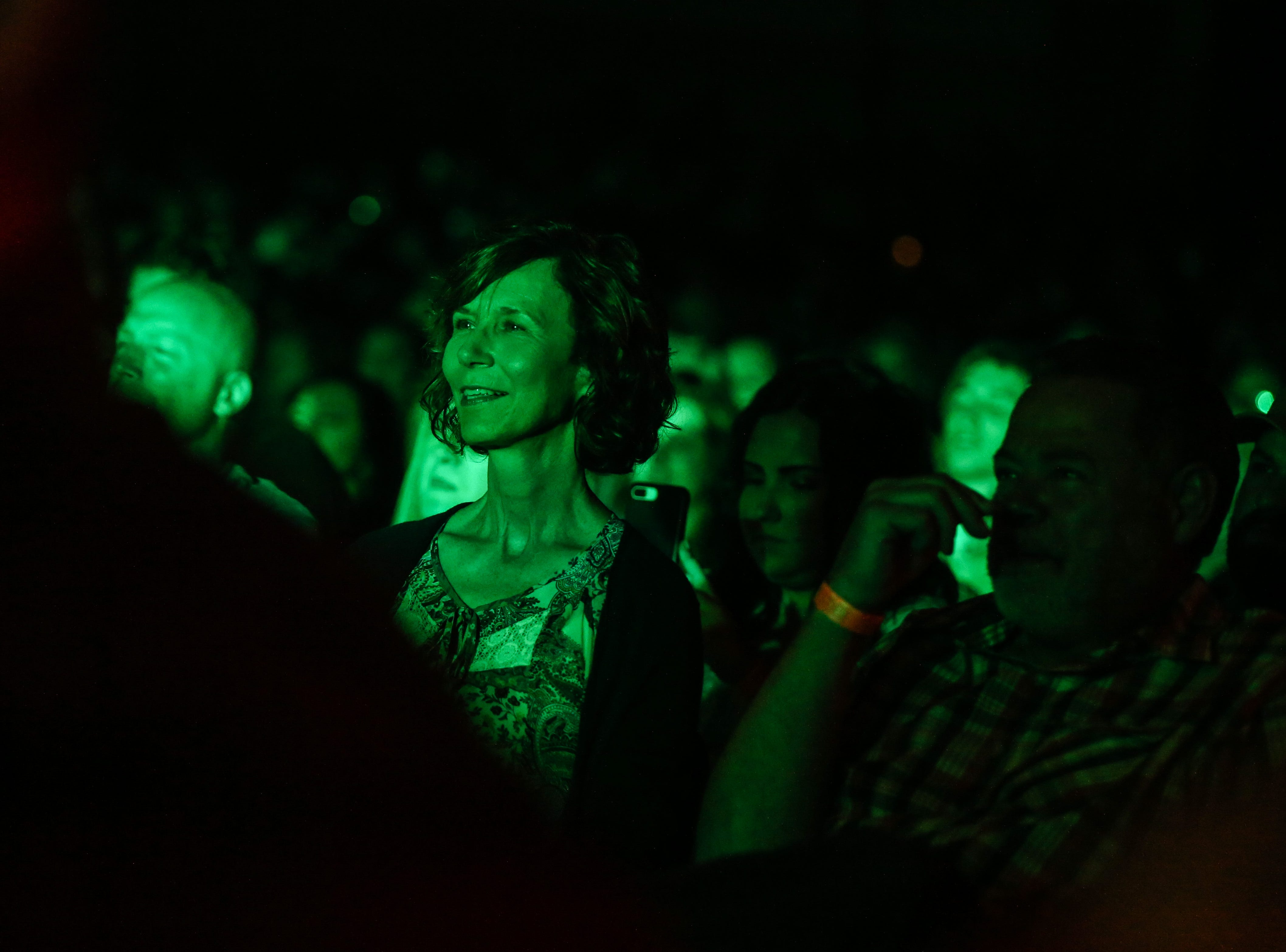 The audience listen to Josh Turner during the concert Friday, April 5, 2019, at Murphey Performance Hall.