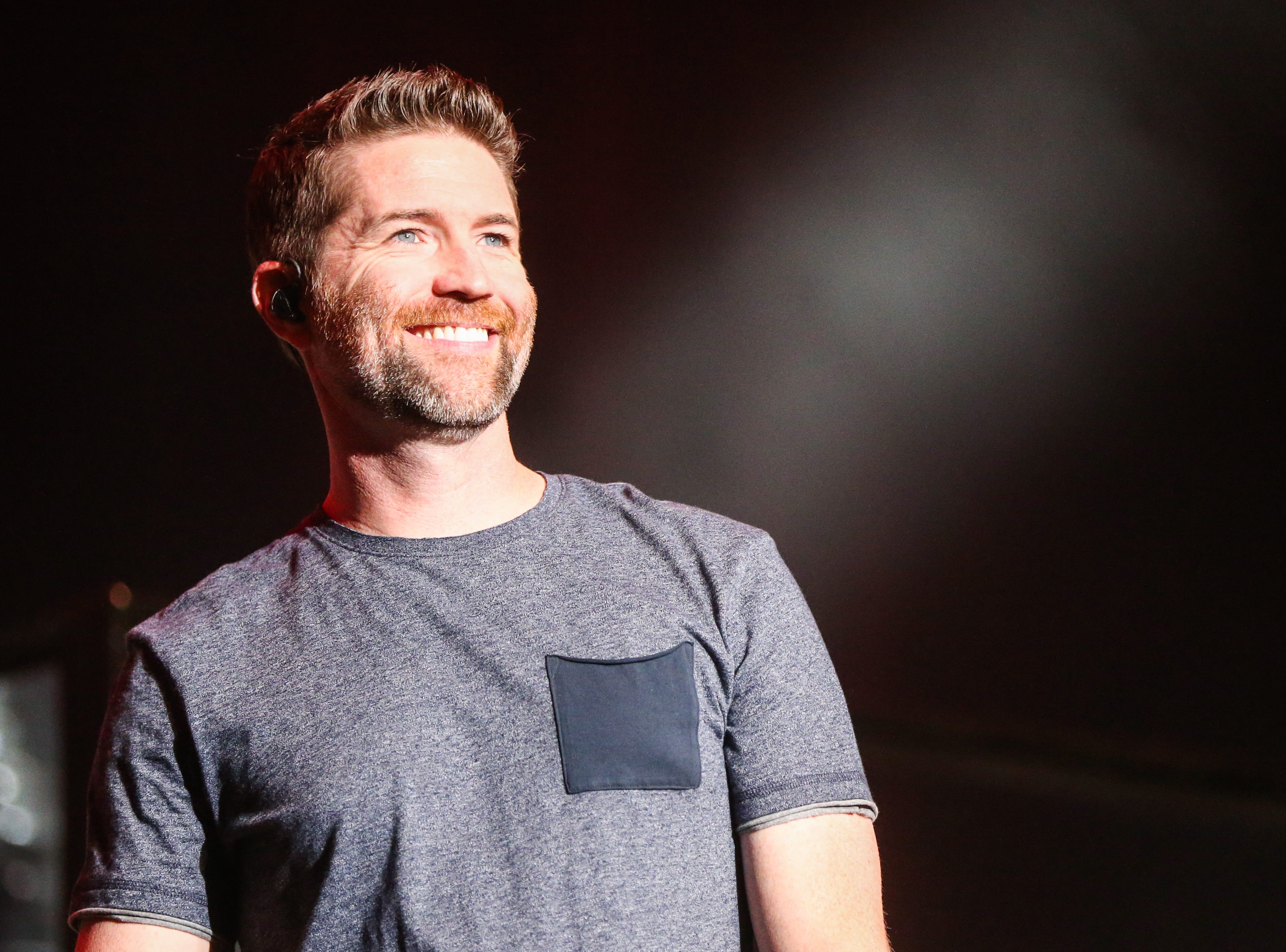 Josh Turner sings during the concert Friday, April 5, 2019, at Murphey Performance Hall.