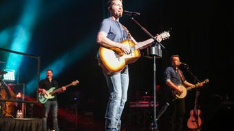 Josh Turner performs Friday, April 5, 2019, at Murphey Performance Hall in San Angelo.