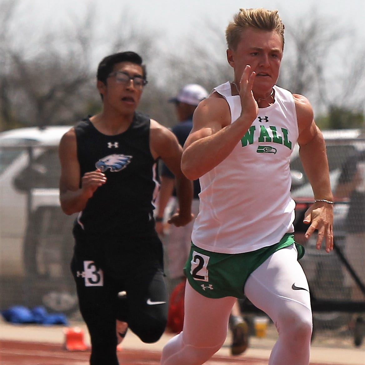 DISTRICT TRACK: Wall sweeps team titles in 4-3A