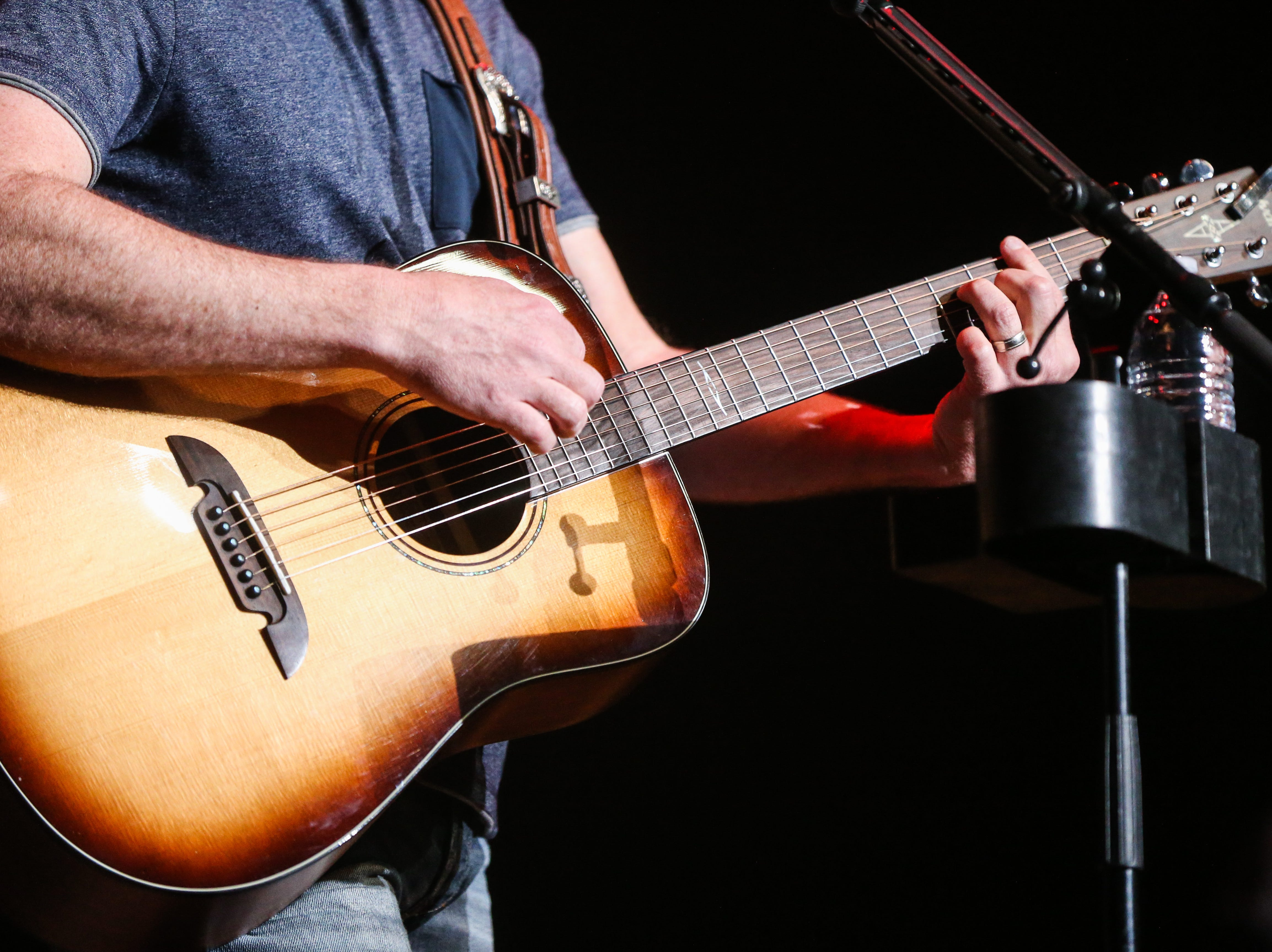 Josh Turner plays during the concert Friday, April 5, 2019, at Murphey Performance Hall.