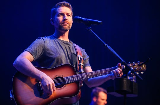 "Josh Turner sing ""Me & God"" during the concert Friday, April 5, 2019, at Murphey Performance Hall."