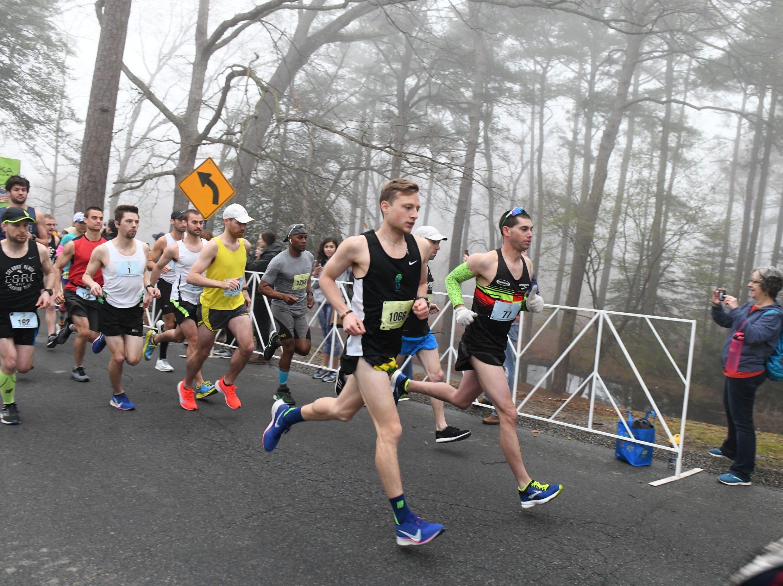 The 2nd Salisbury Marathon/ Half Marathon/ 5k kicked off Saturday, April 6, 2019 at the City Park.