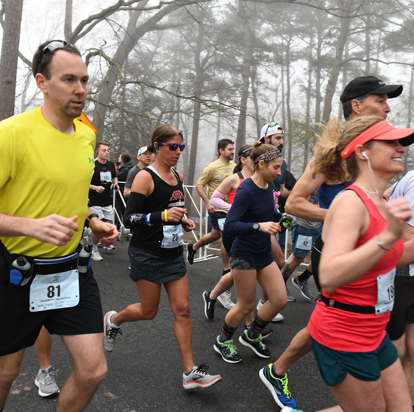 Salisbury Marathon kicks off second year with large slew of runners