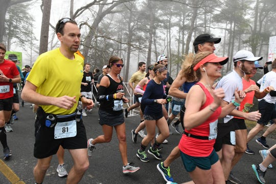 The 2nd Salisbury Marathon/ Half Marathon/ 5k kicked off Saturday, April 6, 2019 at the City Park.