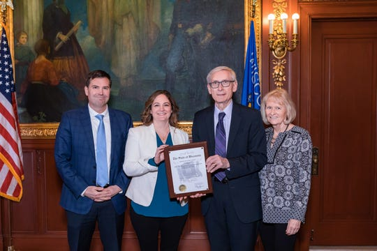 Lakeland University won the Governor's Financial Literacy Award for 2018.