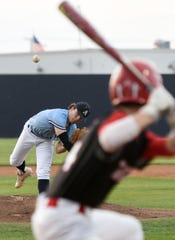 Airline got a quality pitching performance from Bryson Connell, but the Vikings were defeated by Many 3-1 Friday night.