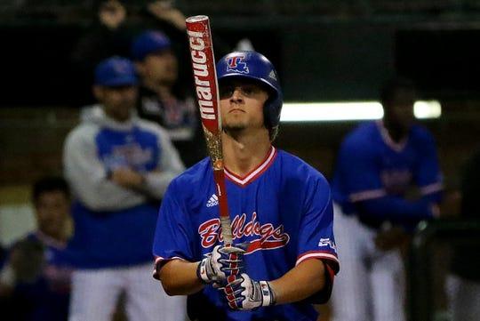 Louisiana Tech sophomore shortstop Taylor Young
