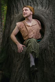 """Ryan Hippe as Jack in """"Into the Woods"""" at the Historic Owen Theatre in Branson."""