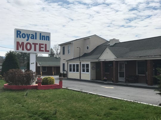 The body of a woman was found Saturday morning at the Royal Inn Motel in Waynesboro.