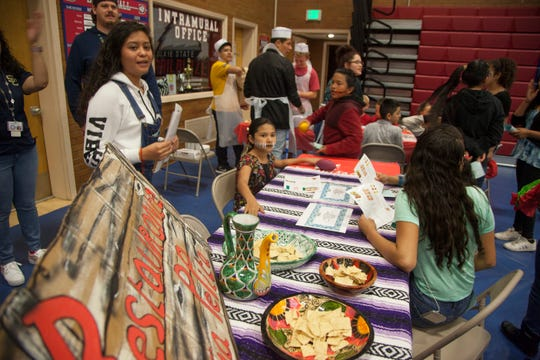 Washington County School District students from various dual-immersion programs gather at Dixie State University to learn and compete Friday, April 5, 2019.