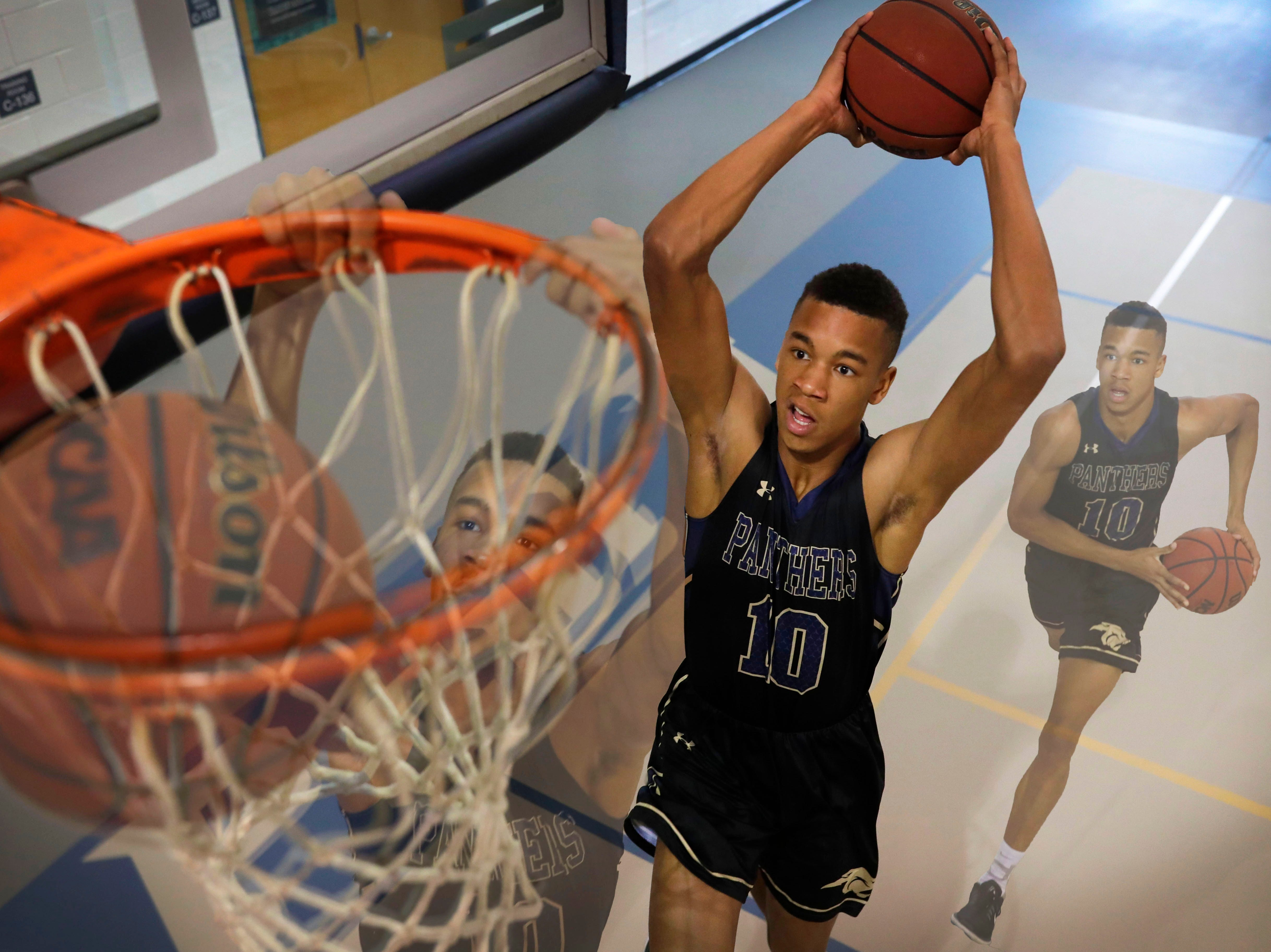 St. John Paul II senior guard Allan Jeanne-Rose is the 2019 All-Big Bend Player of the Year in boys basketball after averaging 17.5 points and 7.7 rebounds per game during the Panthers' 28-5 season that culminated in a Class 3A state championship. In the championship game, Jeanne-Rose dunked home the winning basket in the final seconds of overtime to beat Orlando Christian Prep, which also got him on SportsCenter's top 10 highlights.