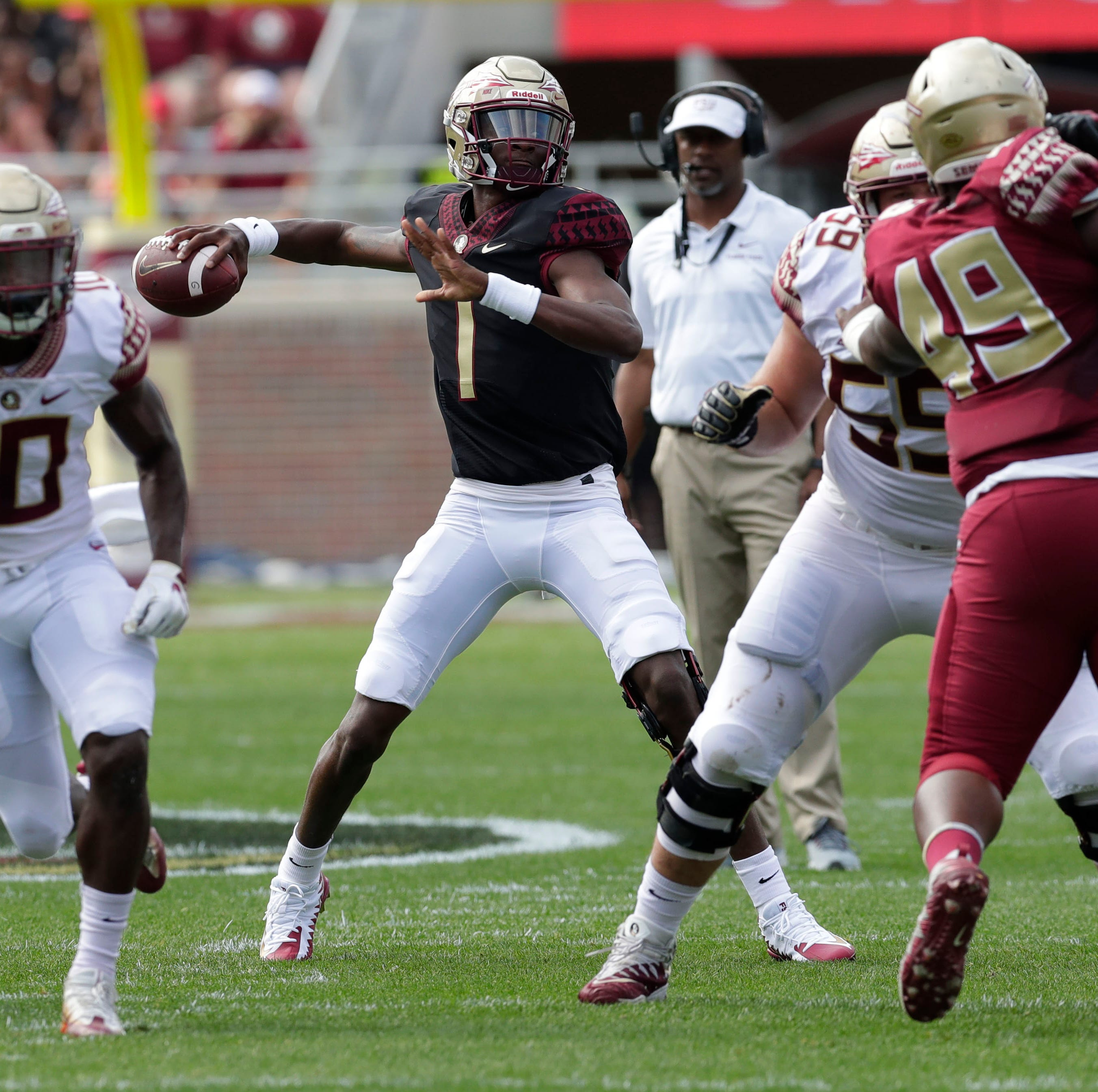 Florida State quarterbacks show out, lead potent offense in spring game