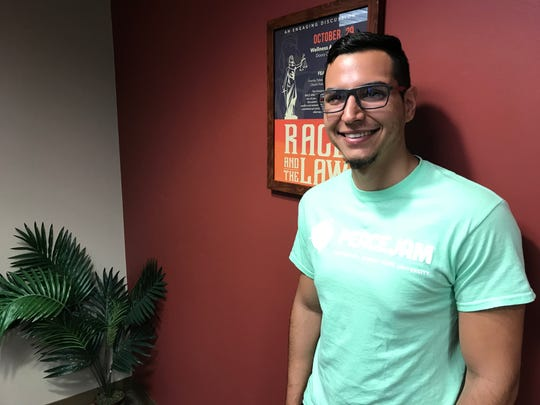 Dayron Sanchez, a junior environmental science major at Florida State University.