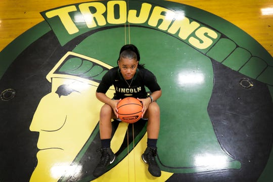 Lincoln sophomore Erin Turral is the 2019 All-Big Bend Player of the Year in girls basketball after averaging 34.4 points, 3.4 rebounds, and 3.1 steals per game as the Trojans reached the Class 8A regional final. Turral, who was the Dairy Farmers Class 8A Player of the Year for the second year in a row, is now a two-time ABB POY.