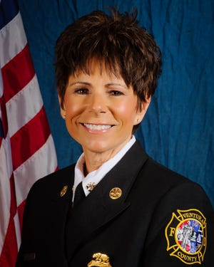 In 2019, Kelly White became the first woman in the history of the Ventura County Fire Department to achieve the rank of assistant chief. The agency announced her expected retirement in August 2021.