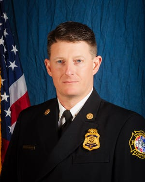 Dustin Gardner is the new deputy fire chief of the Ventura County Fire Department.
