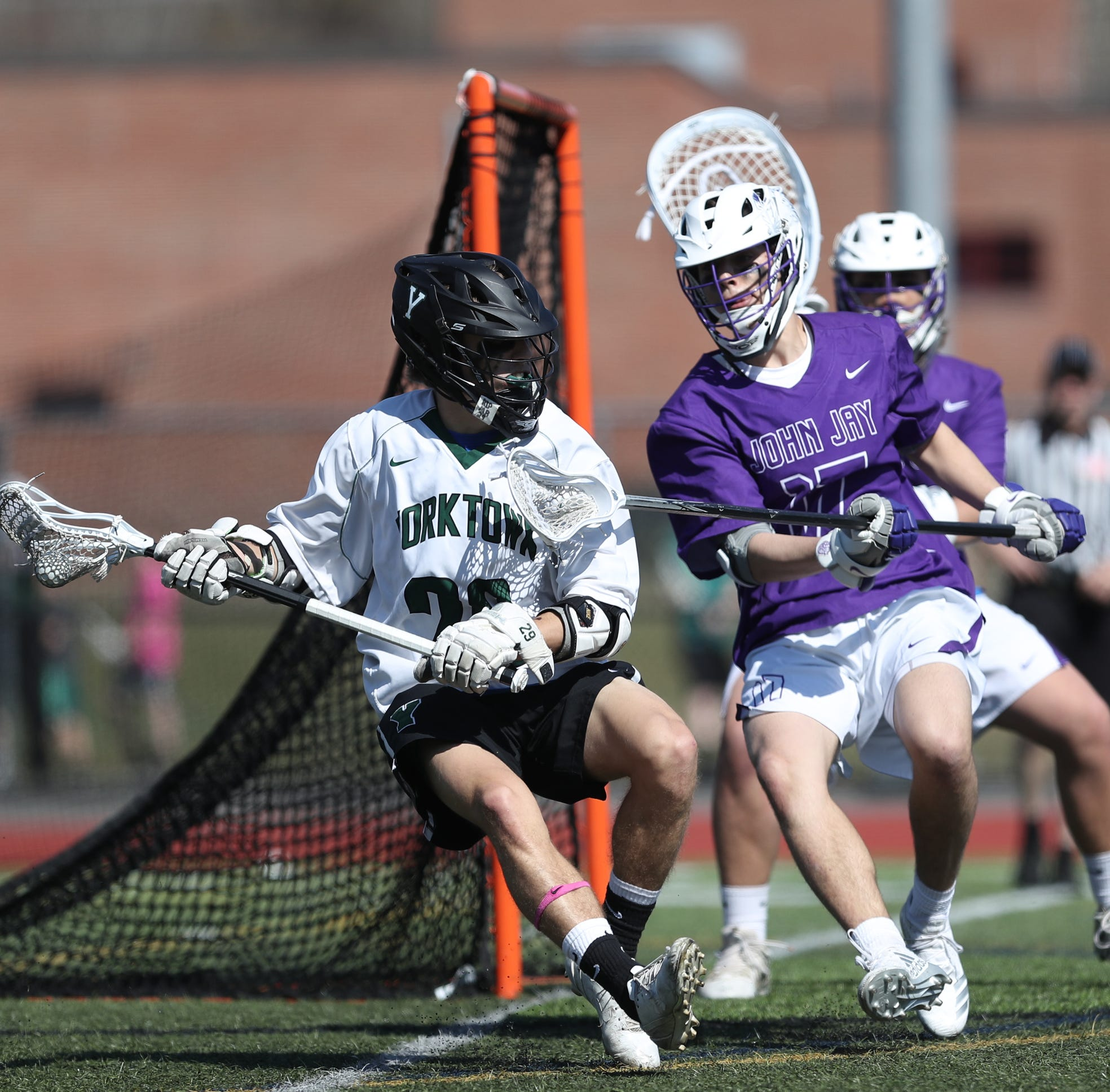 Boys lacrosse: Yorktown gets a little redemption with an easy win over John Jay