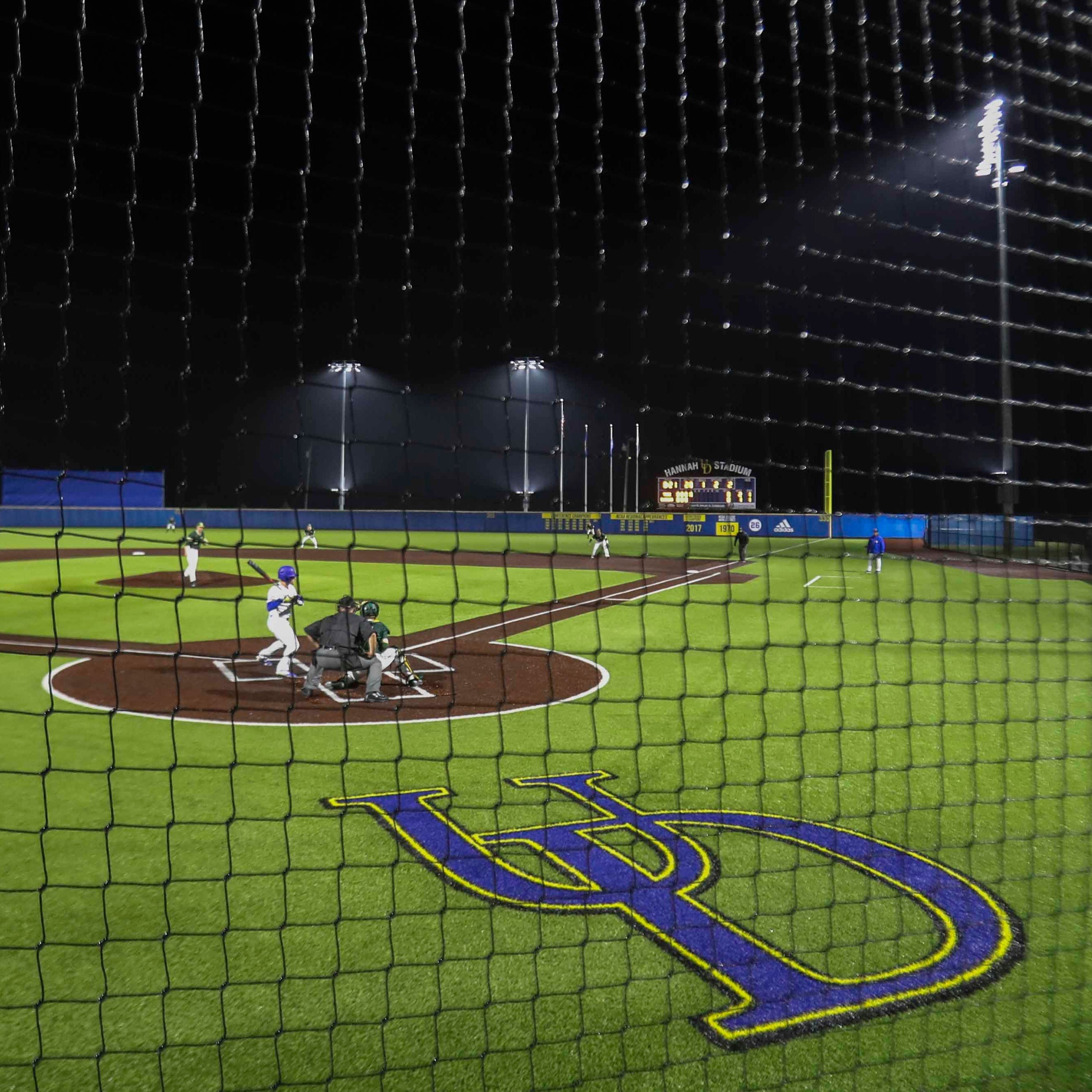 After decades of dreaming, University of Delaware gets night baseball