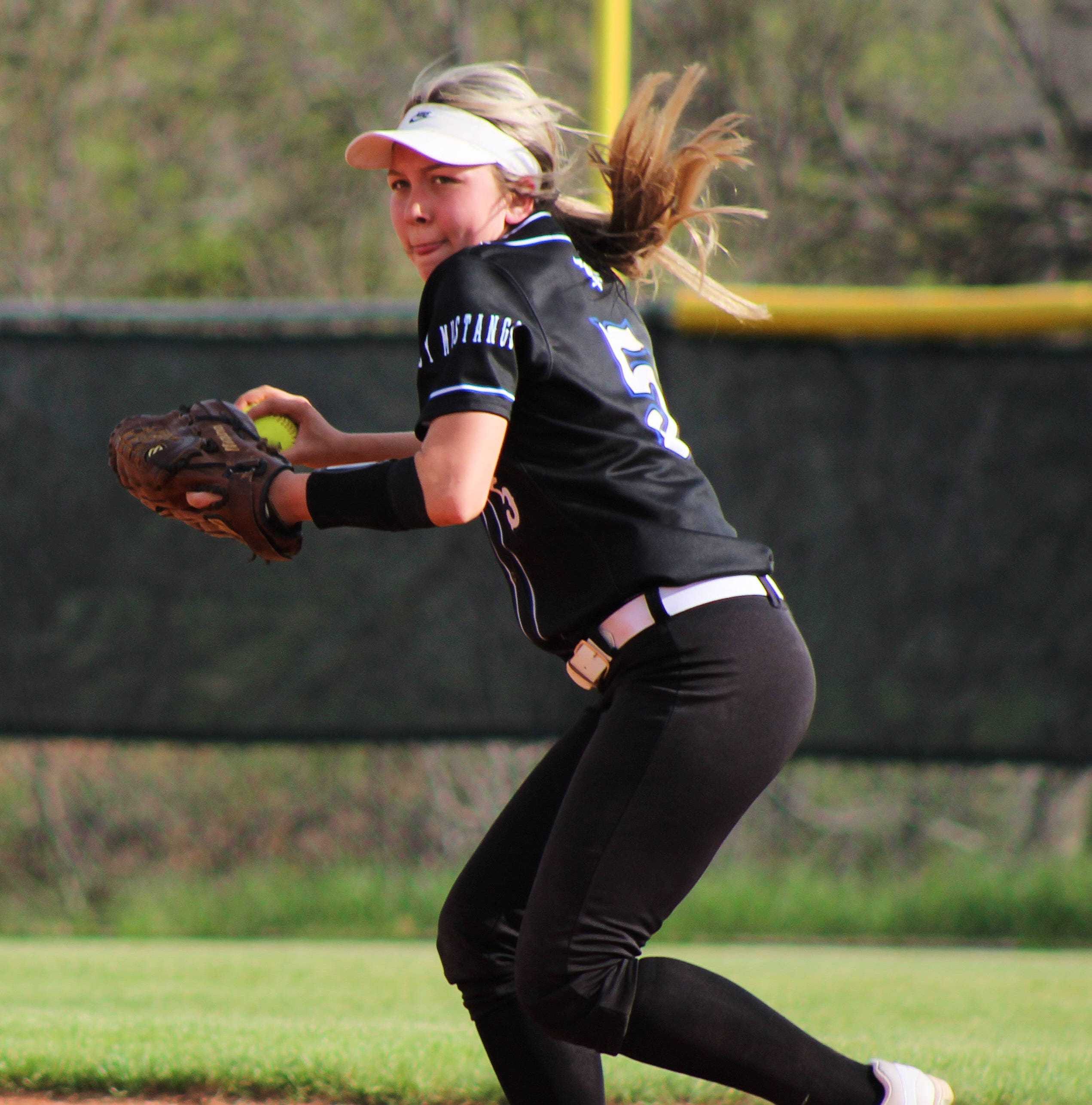 Softball roundup: City View, Graham knock off district leaders; Windthorst maintains lead