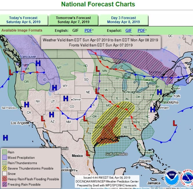 Back-to-back storms threaten blizzard conditions, damaging winds, tornadoes into Wednesday