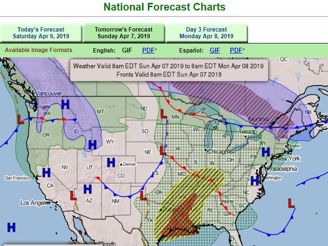 Weather forecast: Back-to-back storms threaten US mid-sections, south