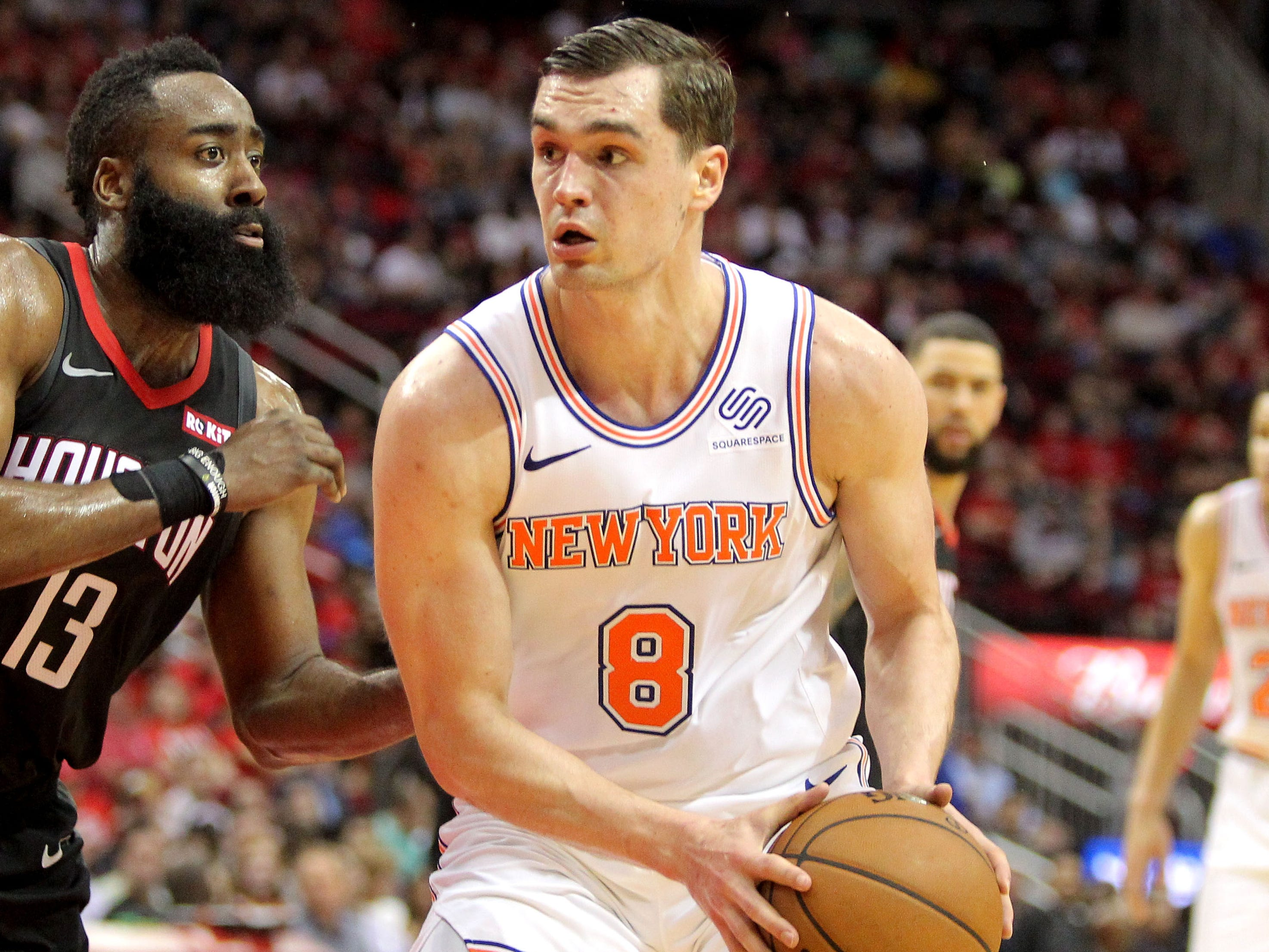 119. Mario Hezonja, Knicks (April 5): 16 points, 16 rebounds, 11 assists in 120-96 loss to Rockets.