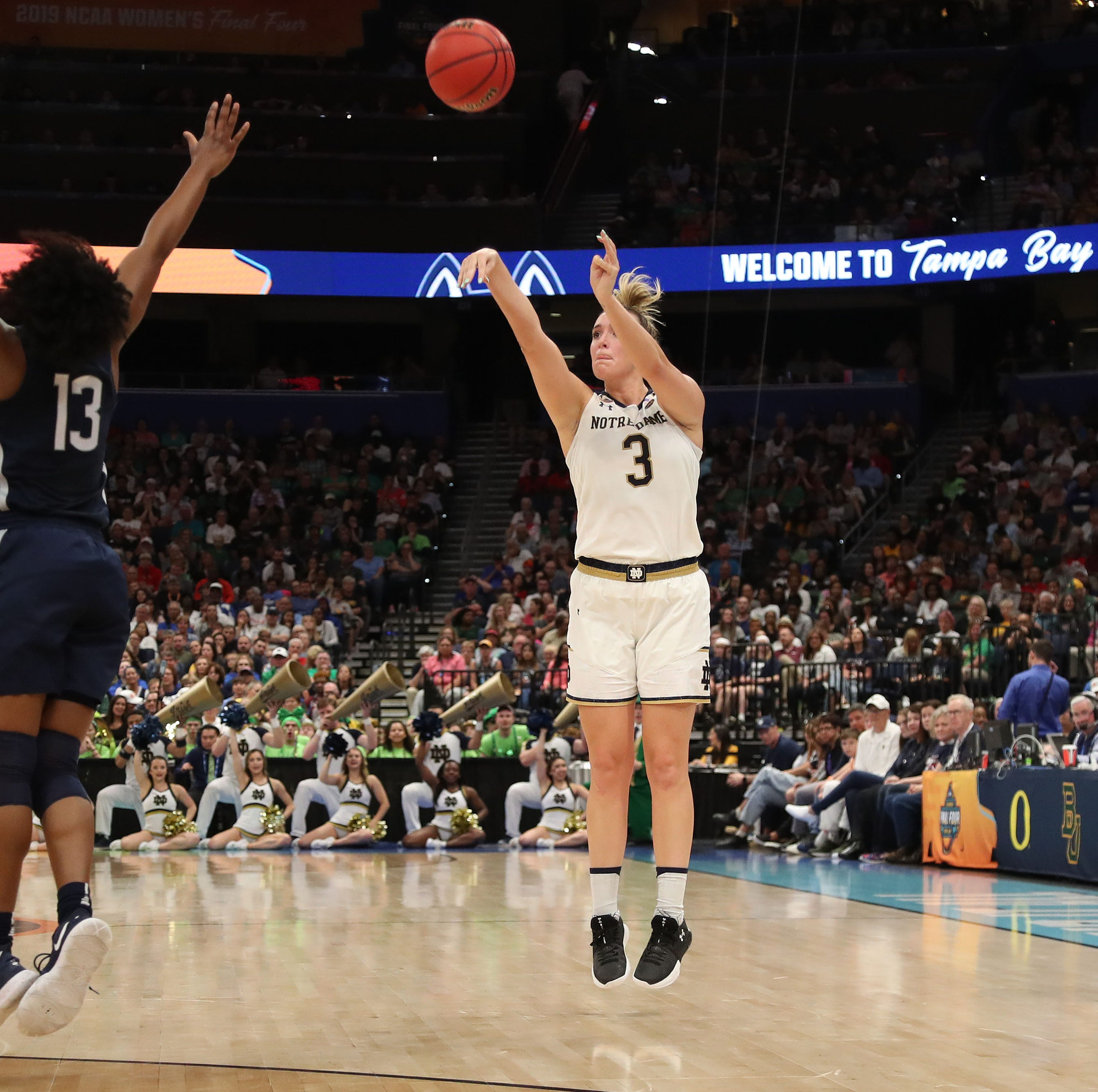 WNBA Draft 2019: Marina Mabrey selected by Los Angeles Sparks