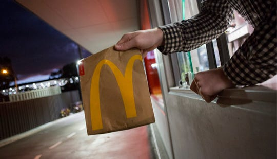 "McDonald's has announced it is hiring 730 people in Delaware this May to ""better serve customers this busy summer season."""