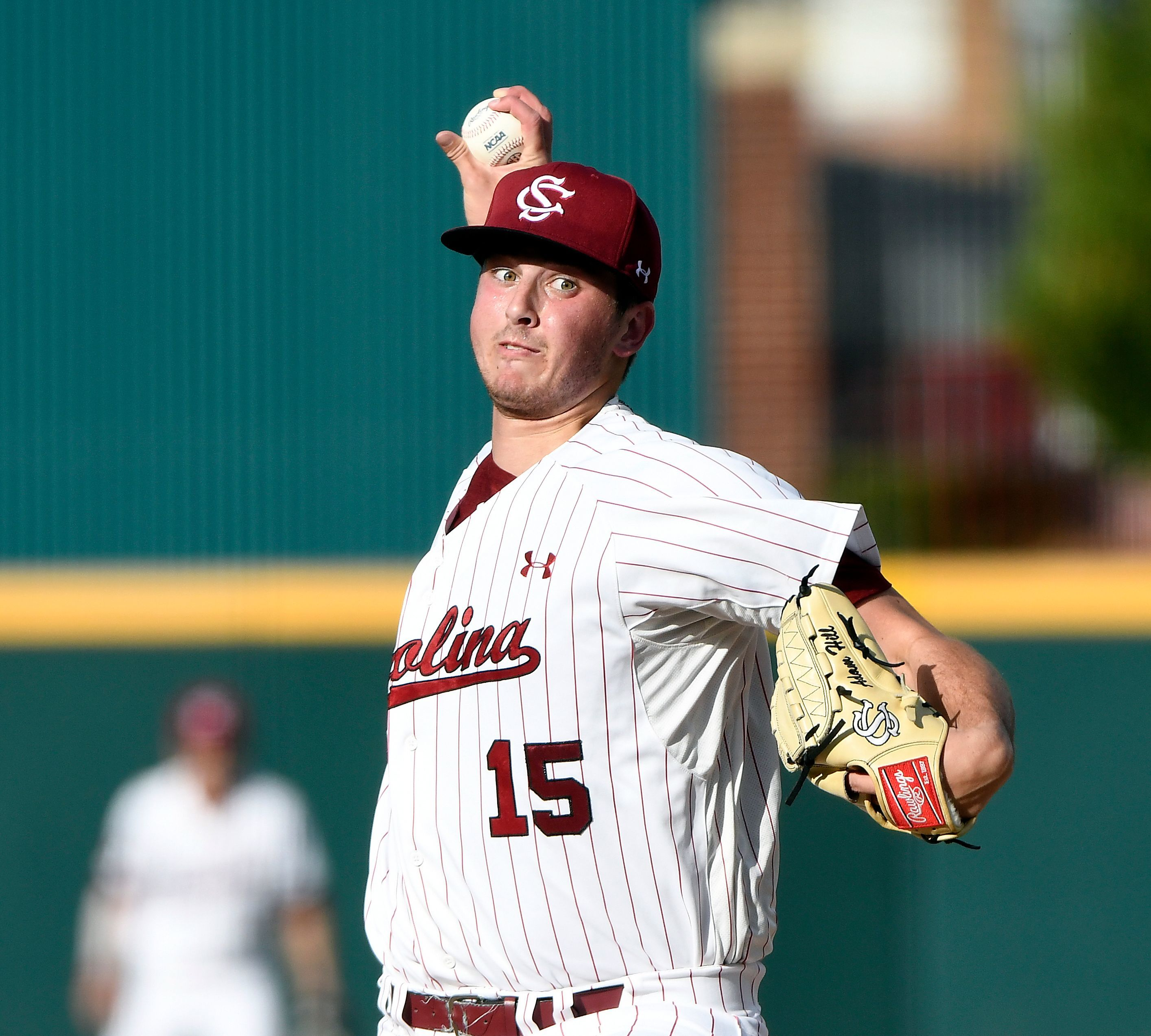 Adam Hill, the ace of the South Carolina pitching staff in college, will make his debut in the Milwaukee Brewers organization with the Timber Rattlers after an offseason trade.