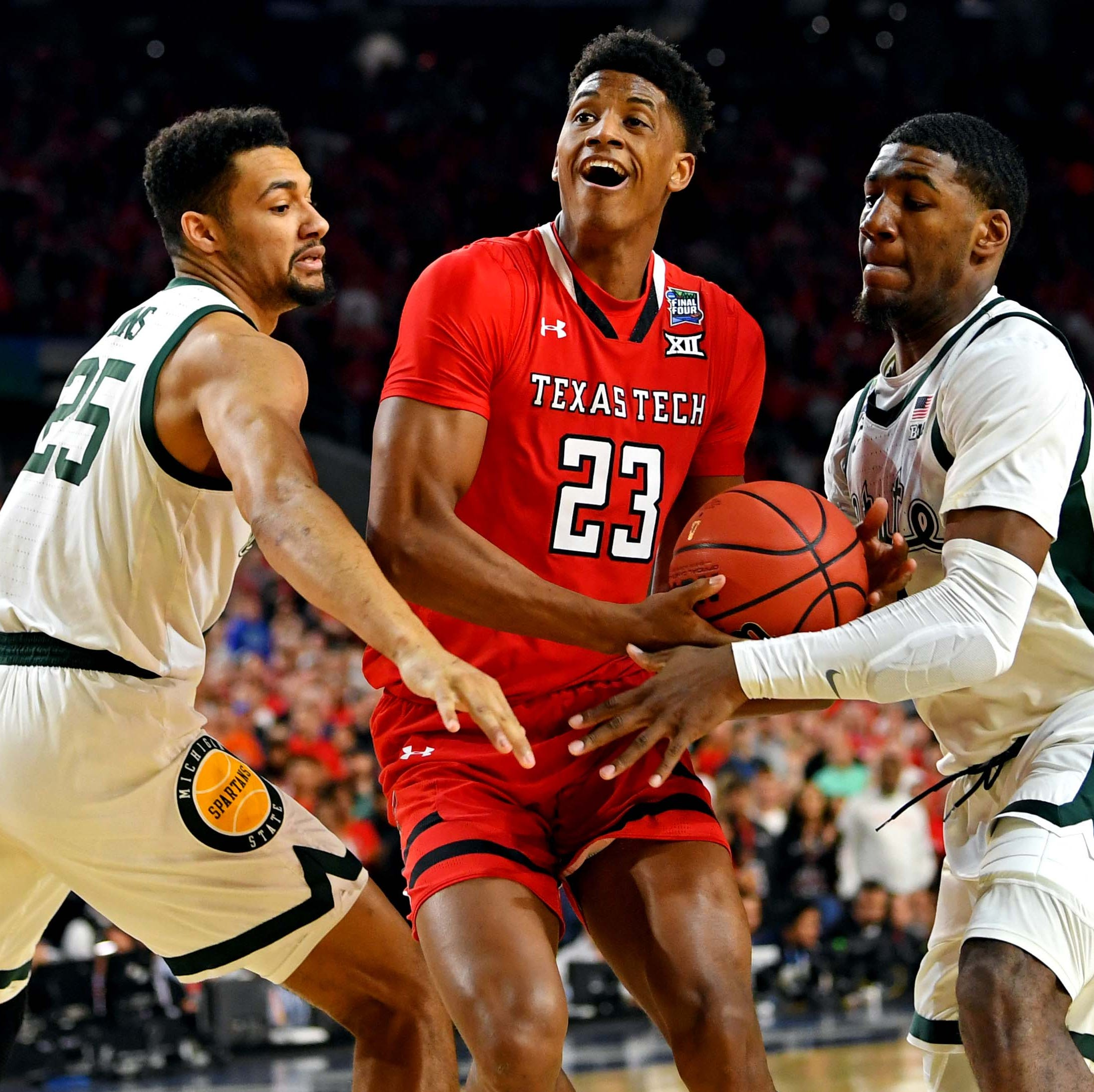 Final Four: Texas Tech stifles Michigan State to advance to NCAA championship game