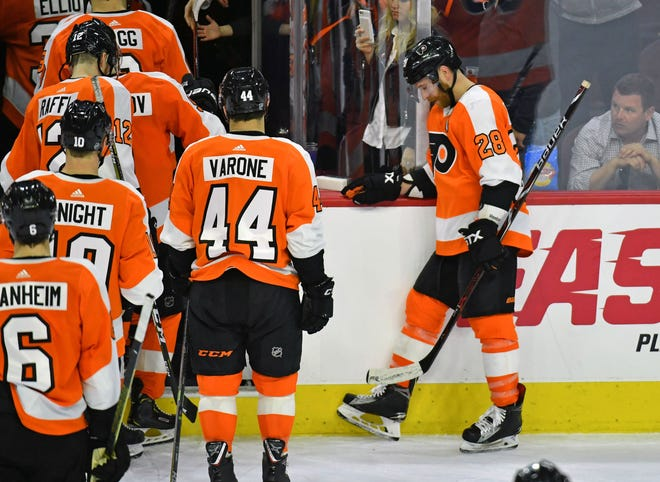 The Flyers finished 37-37-8 and did not make the playoffs. Now it's a summer of change that's expected.