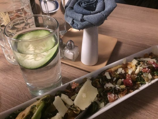 Brussels Sprouts get star treatment at Denim American Bistro in Cherry Hill..