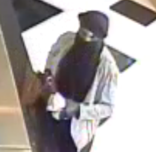 Police are seeking a man who robbed a Republic Bank in Haddonfield Saturday.