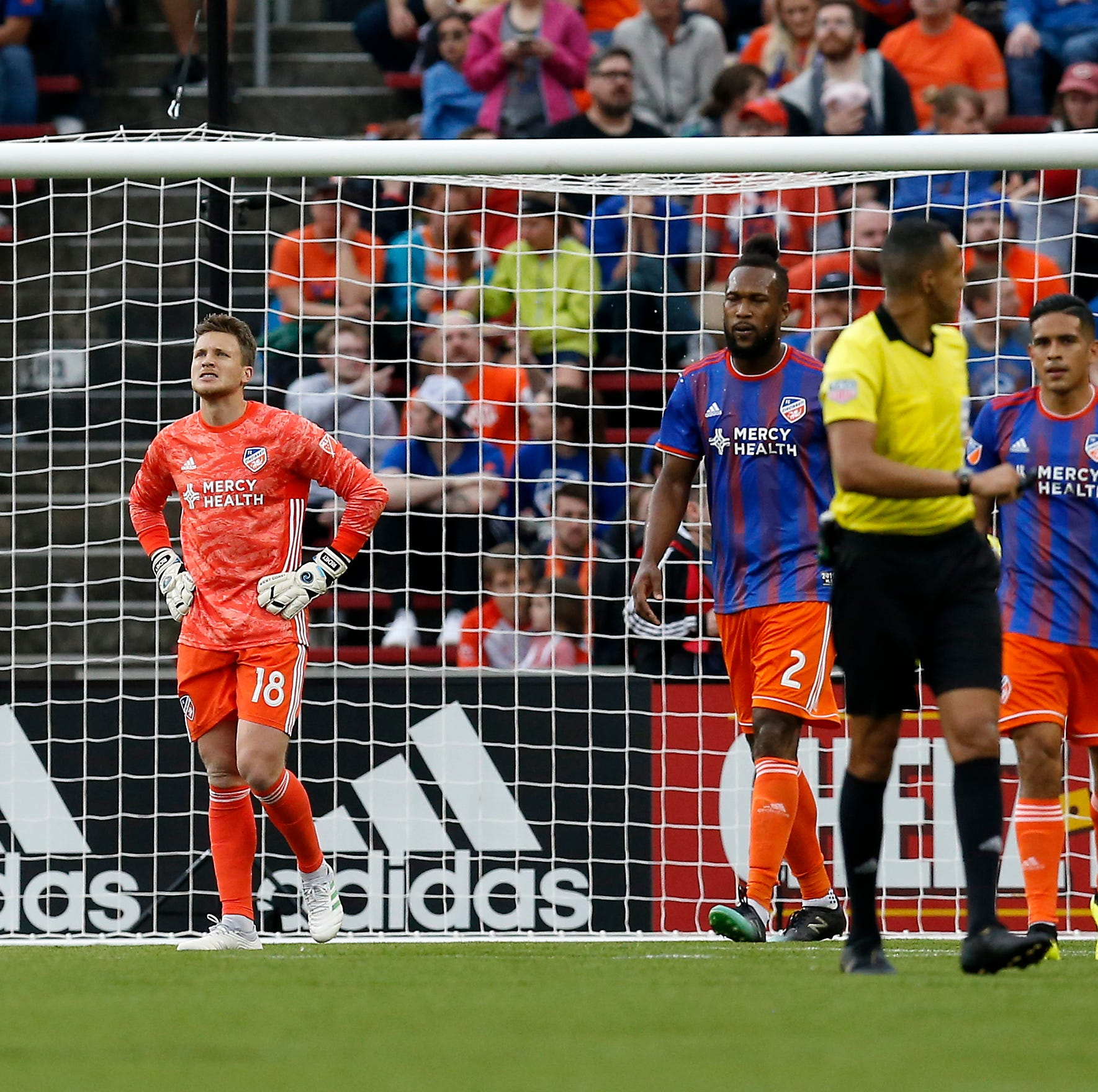 FC Cincinnati vs. Sporting Kansas City: Key miscue, missed chances result in 1-1 MLS draw